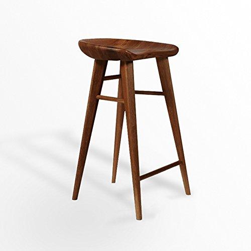 C&L バーチェア、モダンスタイルのスツールハイスツールダイニングチェアウッドチェアは椅子の高さを55-75cm回転できます ( 色 : #1 , サイズ さいず : A ) B07BGXB521 A|#1 #1 A