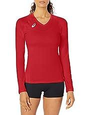 ASICS Women's Spin Serve Volleyball Jersey Long Sleeve