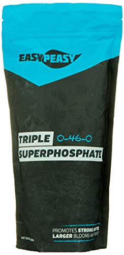 Triple Super Phosphate 0-46-0 Easy Peasy Plants 99% Pure (2lb)