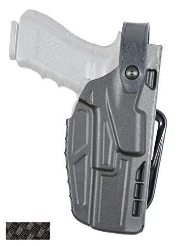 (Safariland 7287 7TS SLS Belt Slide Concealment Holster, Glock 17, 22, 34, 35, and 41 with ITI M3,)