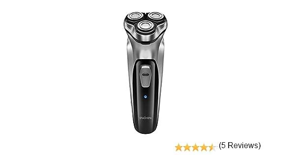 Máquina de afeitar eléctrica 3D ENCHEN, para hombres, lavable y ...