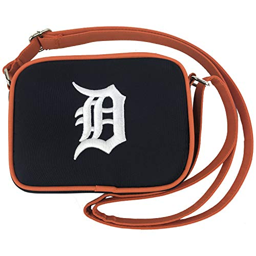 Charm 14 Cross Body Purse with Touchscreen for All Smartphones - Retail Packaging - Detroit Tigers