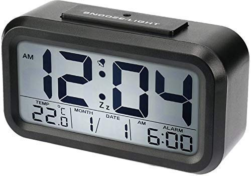 Digital Smart Backlight Alarm Table Clock Online With Automatic Sensor