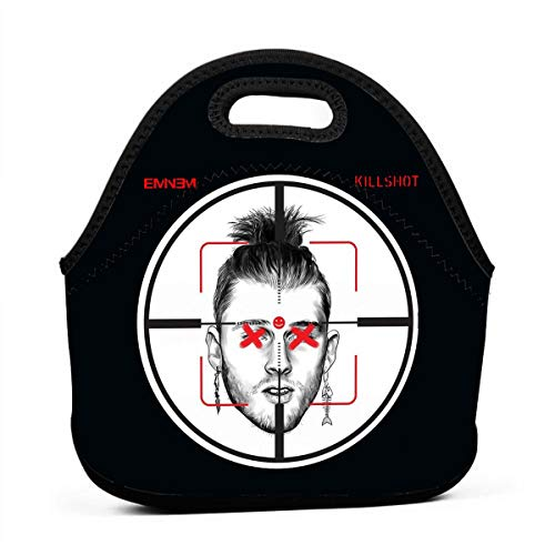 Eminem Killshot Lunch Bag Portable Lunch Box Insulated Lunch Tote Soft Bento Cooler Thermal Bags