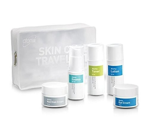 Atomy Skin Care Travel Kit (5 Steps-toner, Eye Cream, Essence, Lotion, Nutrituin Cream) by ATOMY