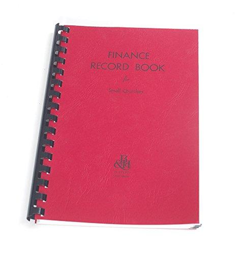 (Finance Record Book for Small Churches)