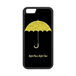 LeonardCustom Protective Hard Durable Rubber Fitted Cover Case for iPhone 6 4.7 inch, HIMYM How I Met Your Mother