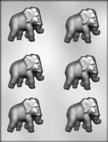 CK Products 2-1/4-Inch Elephant Chocolate Mold