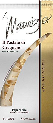 Maurizio - Italian Pappardelle Pasta, (4)- 17.6 oz. Pkgs. by Maurizio