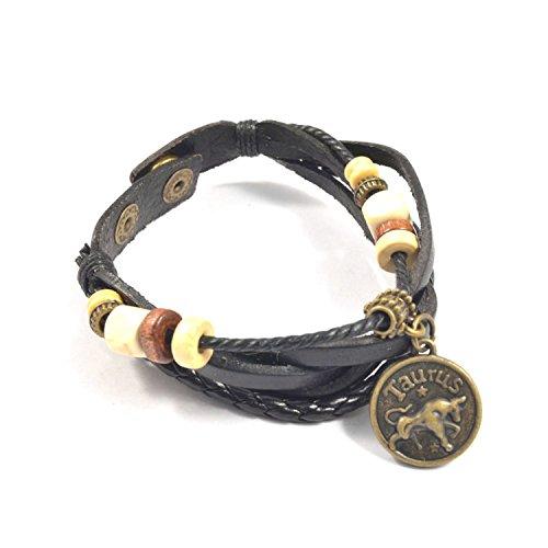 Zodiac Taurus Symbol Charm - 6