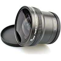 Pixco 58mm 0.25X Super Fisheye Wide Angle Lens