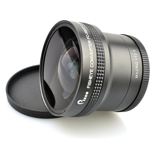 Pixco 58 mm 0.25 X Super Fisheye Wide Angleレンズ B00BIYBVQO
