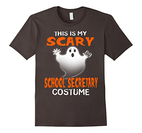 Funny This Is My Scary School Secretary Costume T Shirts
