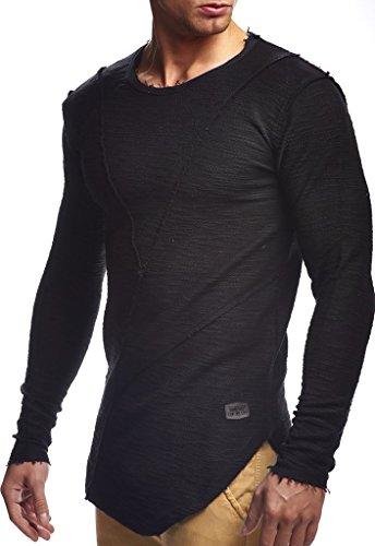 Leif Nelson Sweater Schwarz Sweater Leif Nelson Schwarz ZBEnnUzw5