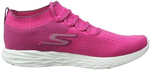 Sportive 6 Scarpe pink Skechers Rosa Indoor Go Run Donna cqTf7CWa