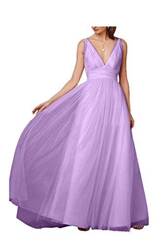mujer Lilac para trapecio Missdressy Vestido wTqF7xqB