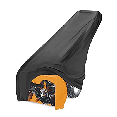 Pyle PCVSNB30 Armor Shield Snow Blower Thrower Protective Storage Cover Indoor/Outdoor, Universal Size for Gas and Electric Powered Blowers