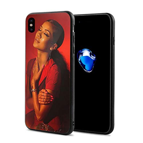 Jhene-Aiko Phone Case for iPhone X Non-Slip Phone Protective Case with HD Image Print