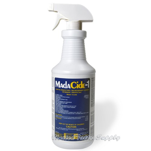 32oz Spray Bottle Madacide-1 - Tattoo/Piercing Studio Grade