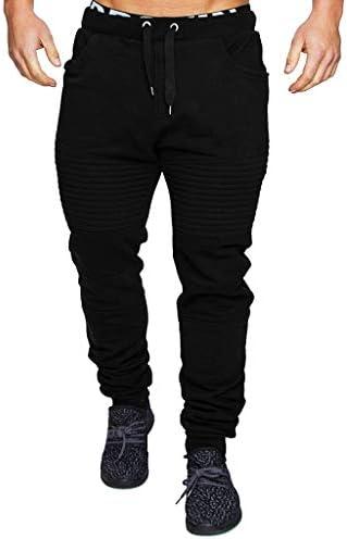 ファッションメンズスポーツ迷彩包帯カジュアルルーズスウェットパンツドローストリングパンツ