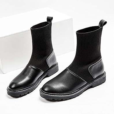 Amazon.com | HOESCZS Boots Martin Boots Boots Socks Small