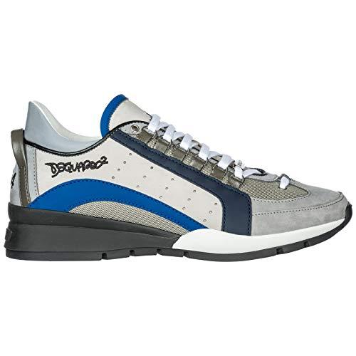 Uomo 40 SNM0404 Bianco Sneakers 13030001 DSQUARED2 gpnqtn