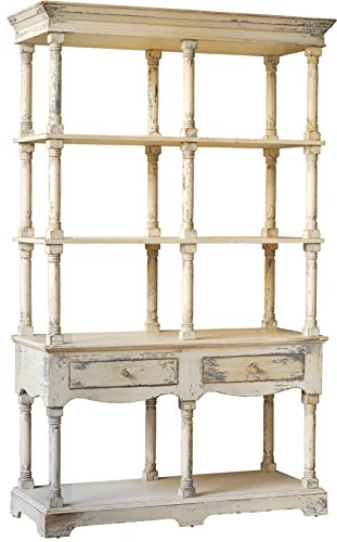 A&B Home 88634 Adela French Country Bookcase, 51 by 19.5 by 81.5-Inch by A&B Home