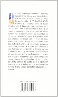 La educación sentimental (Libros Singulares (Ls)): Amazon.es: Marías, Julián: Libros