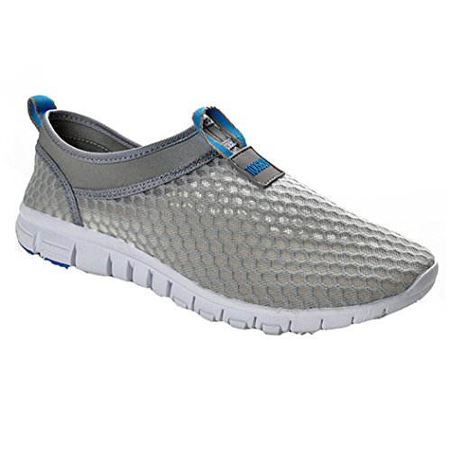 Men & Women Breathable Running Shoesbeach Aquaoutdoorwaterrainyexerciseclimbingdancingdrive (45 EU (11.5 M US Men) Blue)