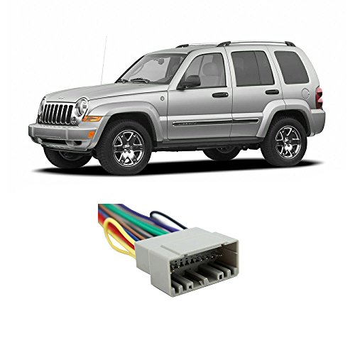 Jeep Liberty Aftermarket - Fits Jeep Liberty 2002-2007 Factory Stereo to Aftermarket Radio Harness Adapter