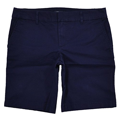 Tommy Hilfiger Womens Hollywood Slim Fit Bermuda Shorts (10, Navy