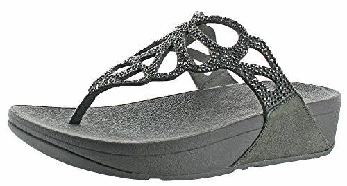 Image of FitFlop Womens Bumble Crystal Thong Sandal