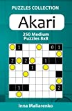 Akari - 250 Medium Puzzles 8x8