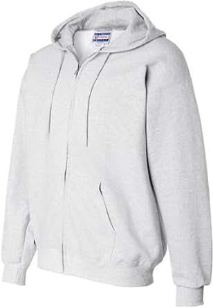 Hanes 10 oz. Ultimate Cotton 90/10 Full-Zip Hood - ASH - S