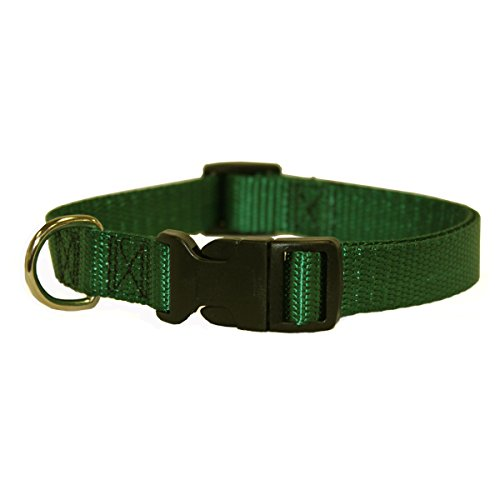 18in   26in Adjustable Collar Green, 100 200 lbs Dog By Majestic Pet Products