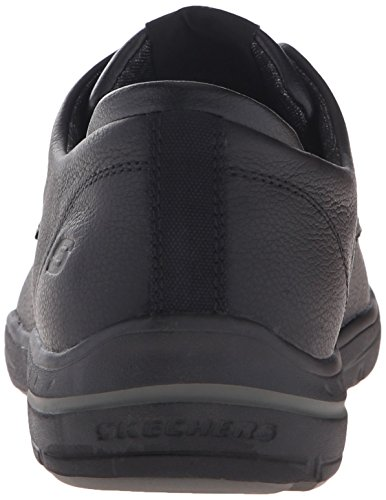 Skechers USA Uomo Harper Epstein Oxford, Nero