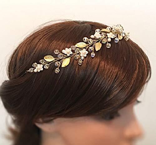 Flowerainbow Blumen Hochzeit Haarkranz Braut Diadem