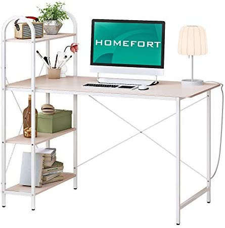 HOMEFORT 47.2 Inches Computer Desk