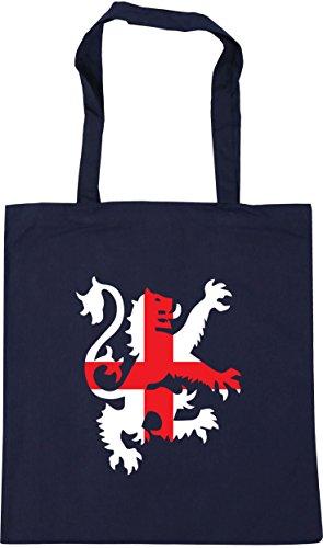 Gym 42cm HippoWarehouse Beach Bag French Navy Tote litres lion x38cm flag Football england Shopping 10 zRzqYn
