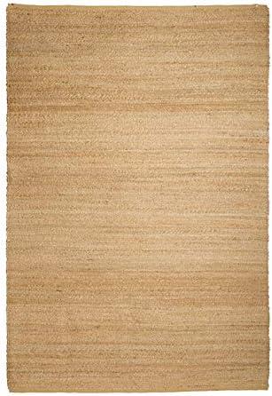 Pirouette Alfombra Natural de Yute 240 x 170 cm delos, algodón, Multicolor, 240 x 170 x 1 cm: Amazon.es: Hogar