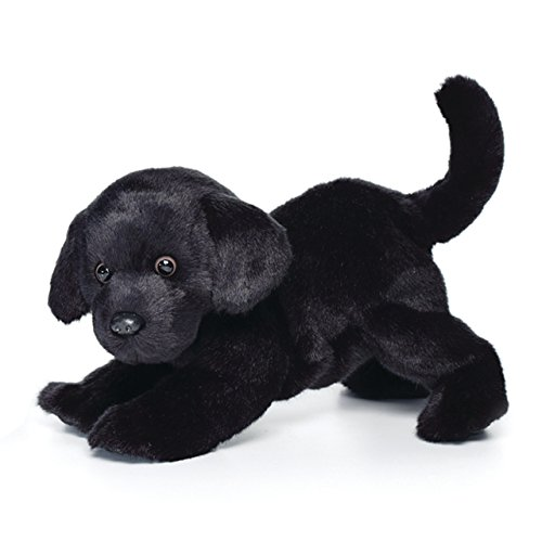 Nat and Jules Playful Large Black Labrador Dog Children's Plush Stuffed Animal Toy