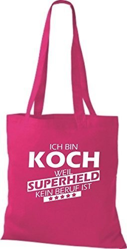 Any Weil Super Fuchsia Bag Cloth Heroes I'm Is Cooking Trade Shirtstown q0HRISw