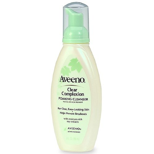 Aveeno Clear Complexion Foaming Cleanser 6 fl oz (180 ml) Pack of (Aveeno Clear Complexion Foaming Cleanser)