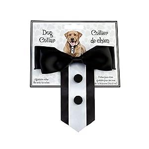 Lillian Rose Wedding Party Tuxedo Dog Collar