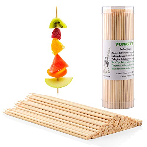 TONGYE Premium Natural BBQ Bamboo Skewers