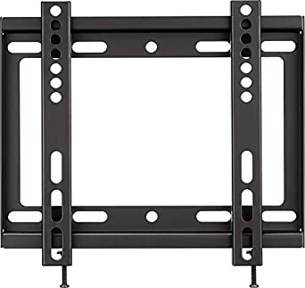 "Insignia - Fixed TV Wall Mount for Most 19"" - 39"" TVs - Black"