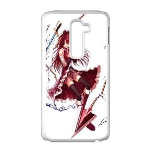 Puella Magi Madoka Magica LG G2 Cell Phone Case White D4606397