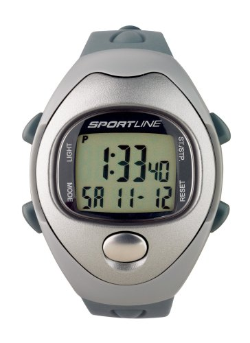 Sportline Solo 910M Men's Heart Rate Monitor Watch (Grey)