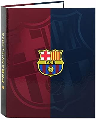 F.C. Barcelona - Carpeta Anillas con Lomo Ancho (SAFTA ...