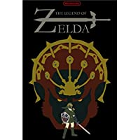 A Link to The Past The Legend of Zelda Video Game Poster Retro Canvas Painting DIY Wall Stickers Art Home Bar Posters Decor Gift : Army Green, Wall Sticker A3